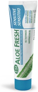 **Aloe Fresh** ALOESOWA pasta do zębów SENSITIVE bez fluoru, SLS